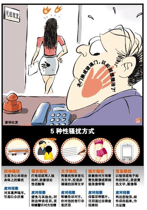 广州新版性骚扰明确定义《广州妇女权益保障漫画亚人之风图片