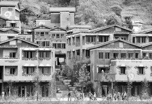 汶川古镇水磨两年复活 羌族特色遗产获保护