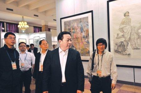 巴蜀画派首次亮相北京 展四川美景灾区新貌