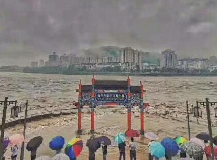 强降雨造成四川雅安2人死亡 近10万人受灾