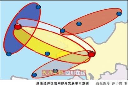 成渝经济区2015将建成西部重要经济中心
