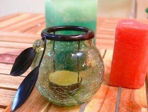 饰品设计:送给大家一个非常精致而漂亮的透明玻璃瓶.图片