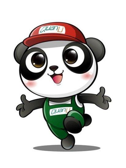 卡通熊猫形象网络投票即将开始