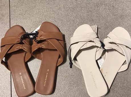 ZARA最后一波捡漏 貌美凉鞋才¥99