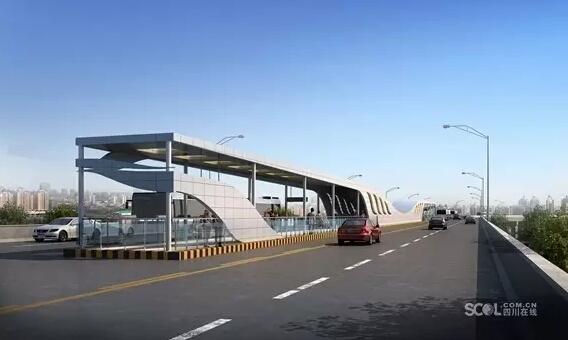 成都第二条BRT快速公交即将开行 五环路年内开工