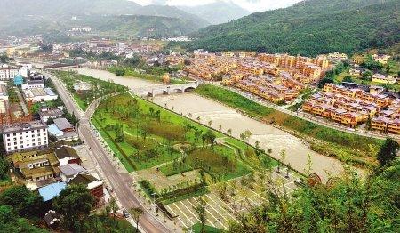 汶川水磨羌城6日开城 获全球重建最佳范例