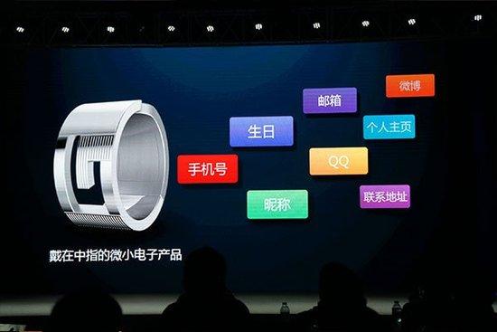 智能戒指,相比功能独立的手表,这款戒指则完全是智能手机的一高清图片
