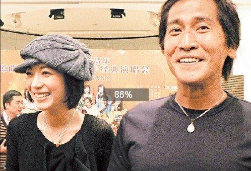 传50岁齐秦与26岁女友结婚 公司否认:没时间!