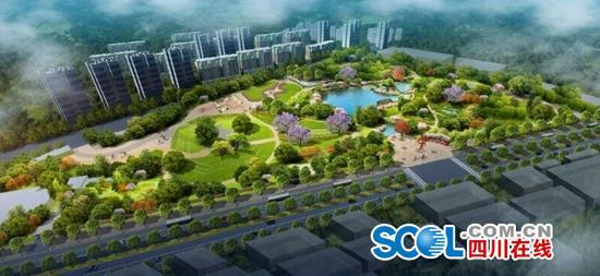 成都新华公园全面提升改造 请市民避免到公园游玩