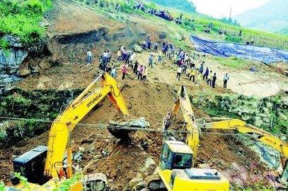 川黔铁路因塌方中断 康定绕行至新都桥(图)