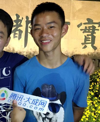 2016寻找四川最强高中生:成都市状元高中黄可史料理科图片
