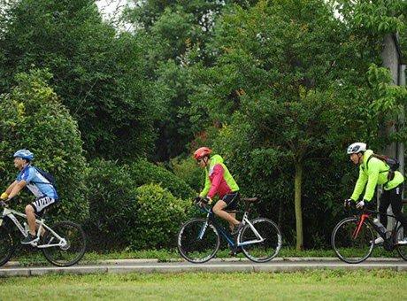 成都人逛绿道旅游模式全面开启 969公里绿道各有其美