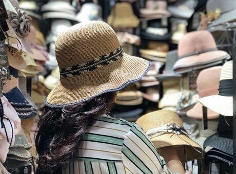 成都夏日帽子购买攻略 不到300元买到了7顶