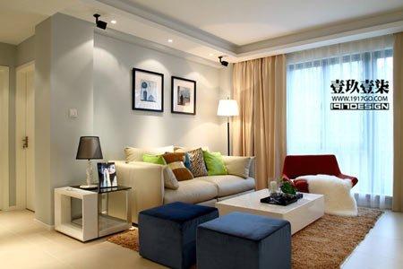 省钱实用的家装案例 22图晒93平米时尚婚房