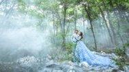 好仙气的森系婚纱照