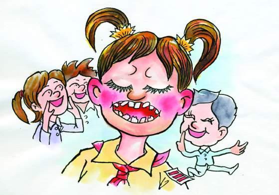 尴尬!女子竟然因牙齿不齐错过跟男神表白