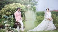 婚照中的韩式小清新