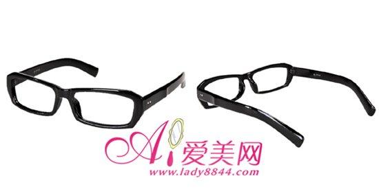 时尚黑框眼镜