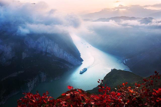 巫山红叶节11月17日开幕 邀游客观5万亩红叶图片