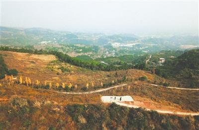 三岔湖,龙泉湖,丹景山等为代表的龙泉山生态区域,涉及金堂县,青白江区图片