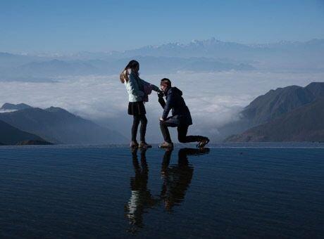 成都出发 周末打来回去看日出云海和金山