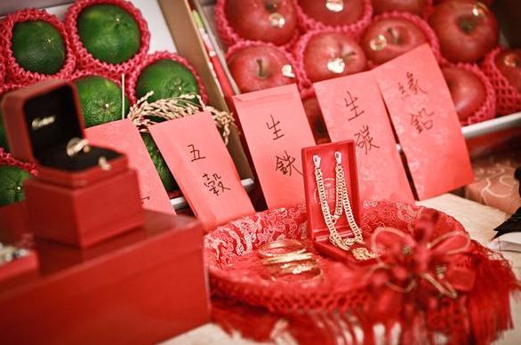 办中式婚礼风俗