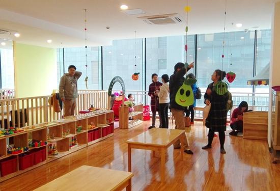 首个光亚亲子中心亮相城南 服务天府新谷创业社区