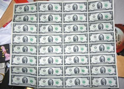 南充市民用18万人民币兑换美元 得到一堆废纸(图)