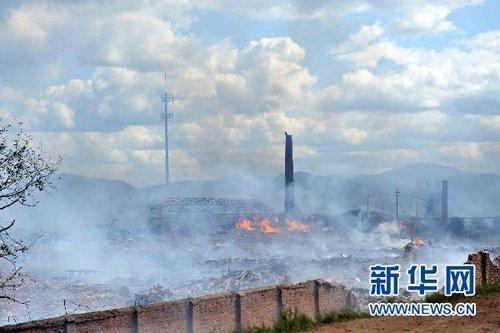 黑龙江伊春鞭炮厂爆炸已致13死148伤