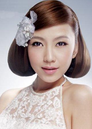 复古的新娘盘发-8款唯美新娘盘发 展现与众不同的美