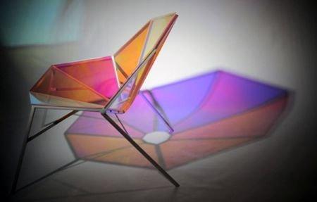 彩虹八角形家居椅出自别致营造创意情怀有温度惊艳思考情趣会图片