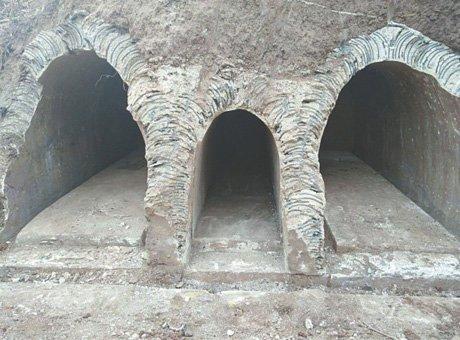 自贡发现清代古墓 墓主族人中有盐商望族