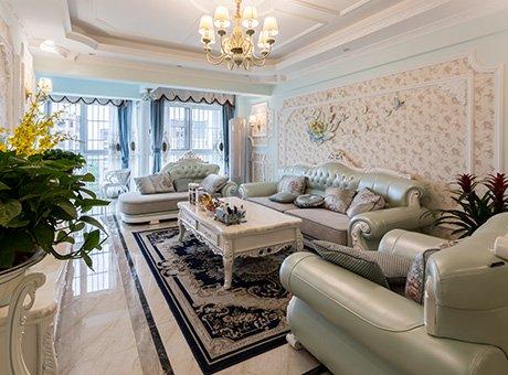 89平简约法式风 营造一个浪漫温馨的家