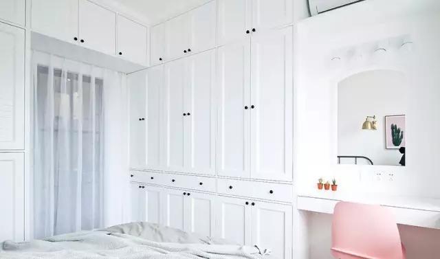 主卧室壁柜内部结构图