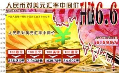 人民币一年升值约3.45% 专家建议换汇理财