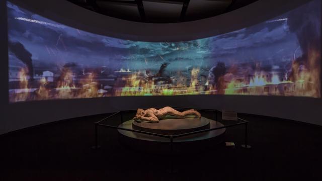 两大失落文明重现 庞贝展在金沙博物馆开幕