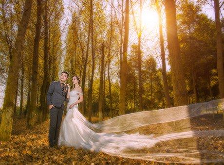 这是一组自带阳光的婚纱照 冬季拍照正确姿势