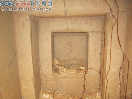 古墓内部 图片来源:四川在线