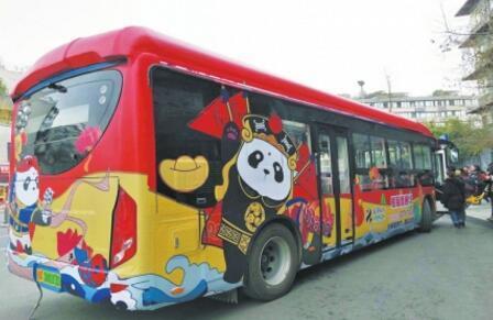 成都首推9.9元年味观光巴士 串起市区景点