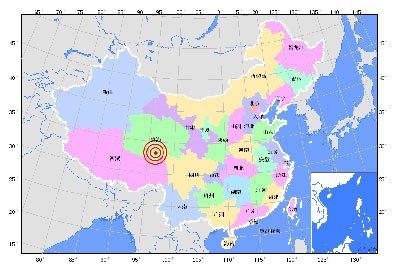 青海省玉树藏族自治州玉树县发生5.3级地震