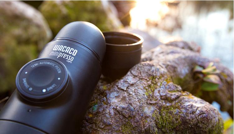 WACACOMinipresso户外便携式咖啡机手动老茶罐图片