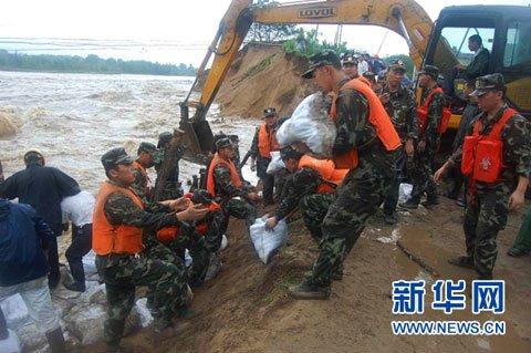 长江中下游强降雨将持续至14日