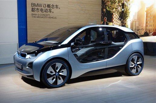 宝马电动车年底集中上市 明年6月入华图片