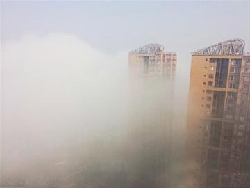 四川大雾天气导致事故频发 已致3死40余伤(图)