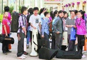 部分北京家长为小升初特长生测试半年花万元