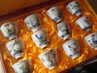 孔德璐――十二花卉杯