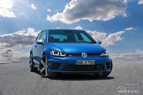 高尔夫r evo概念车 新车看点:采用大量轻量化材料的高尔夫r 高尔夫图片