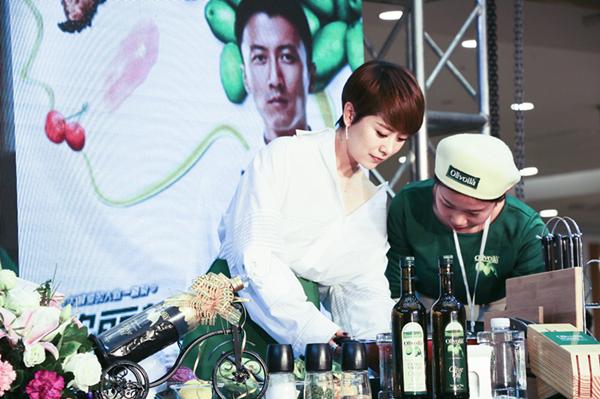 """欧丽薇兰橄榄油""""用美味宠爱你的最爱"""" 海清教你用美食表达爱"""