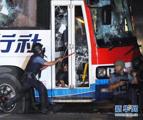 劫持香港旅游团的菲律宾劫匪被打死