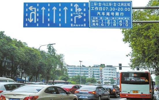 成都市交管局:新方案暂不会采取单双号限行
